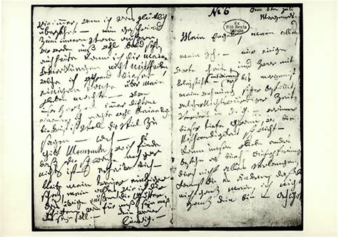 lettere d beethoven ludwig beethoven der brief an die quot unsterbliche geliebte quot
