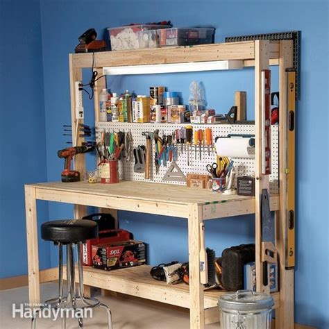 building a workshop how to build a workbench super simple 50 bench the
