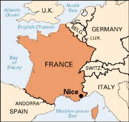 Map Of Nice France by Nice Map
