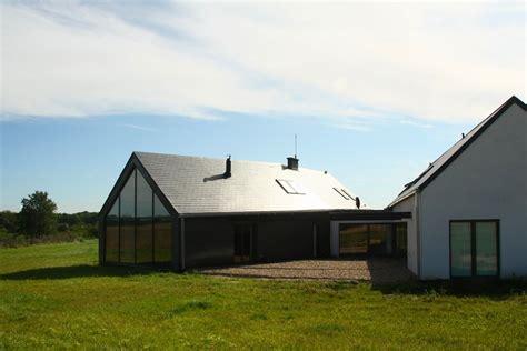 Building Plans For Houses Dom Stodoła Ze Szklaną Elewacją Architektura Wnętrza