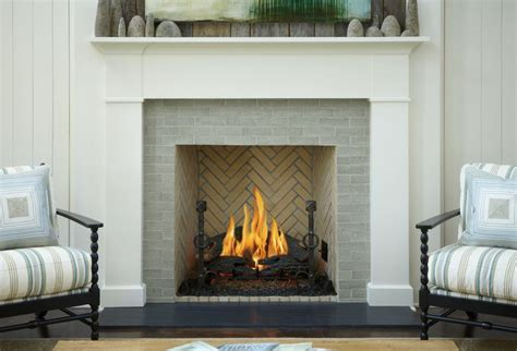 Fireplace Tile Brick by Fireplace Surround That Feels Clean Classic And Warm All