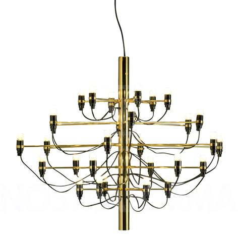 Brass Chandelier Lighting Flos 2097 30 Suspension 187 Modern And Contemporary Lighting