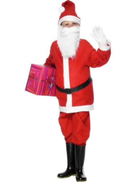 child santa costume 21478 fancy dress ball