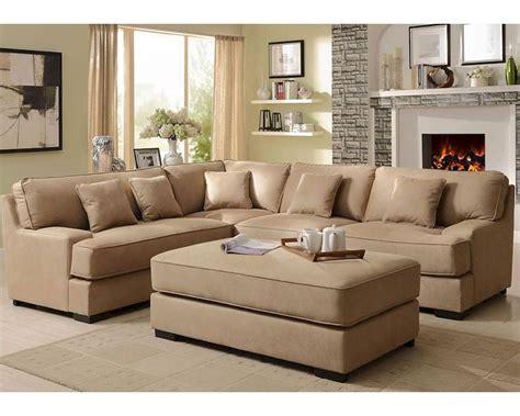 beige sofa set beige sectional sofa set minnis by homelegance el 9759nf set