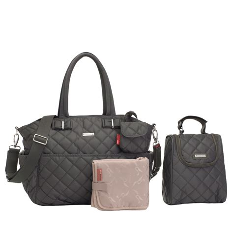 Quilted Baby Bags by Temporarily Out Of Stock Storksak Bobby Quilted Bag