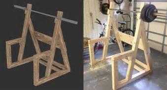 Folding Dumbbell Bench Woodwork Wooden Power Rack Plans Pdf Plans