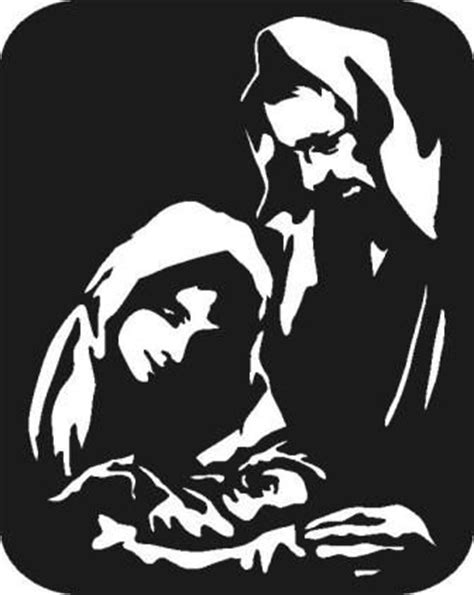 Nativity Yard Art Patterns Woodworking Projects Plans Nativity Silhouette Template