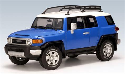 autoart toyota fj cruiser blue 78855 in 1 18 scale