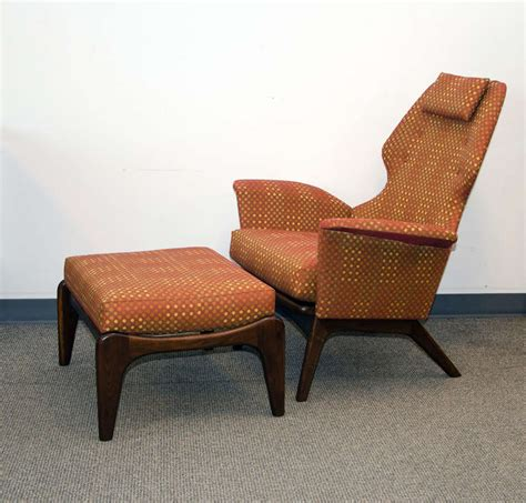 pearsall chair mid century lounge chair and ottoman adrian pearsall for