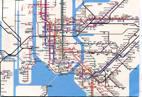 map subway new york city new york city subway map remembering letters and postcards