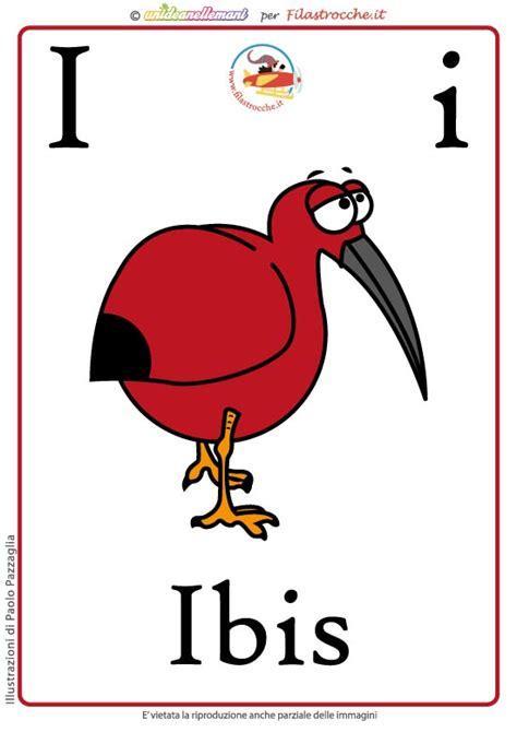 schede lettere alfabeto schede alfabeto inglese da stare lettera i