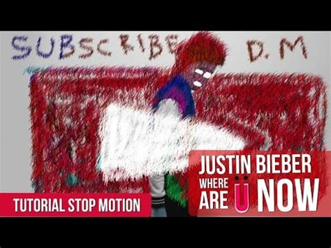 tutorial membuat video stop motion cara membuat stop motion seperti video klip justin bieber