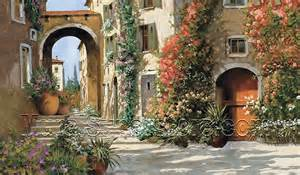 Tuscan Wall Mural Tuscan Breezeway Wall Mural Mp4870m