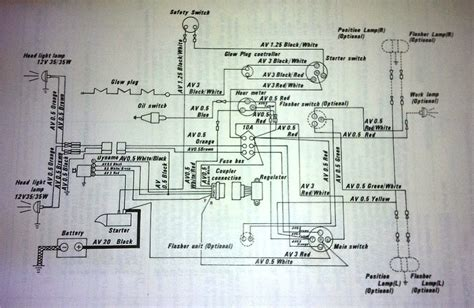 kubota wiring schematic together with kubota g1900 wiring