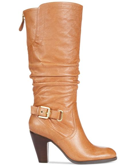 guess s mallay boots in brown lyst