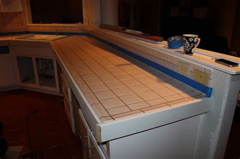 Covering Countertops by Remodelaholic Install Of Concrete Countertops