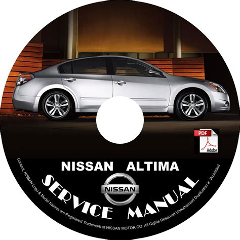 best car repair manuals 2007 nissan altima security system nissan 2007 altima hybrid hev service repair shop manual on cd 07 factory oem
