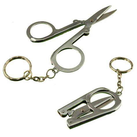 folding keychain folding scissor keychain