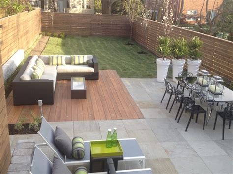 modern backyards contemporary patio home decorating ideas