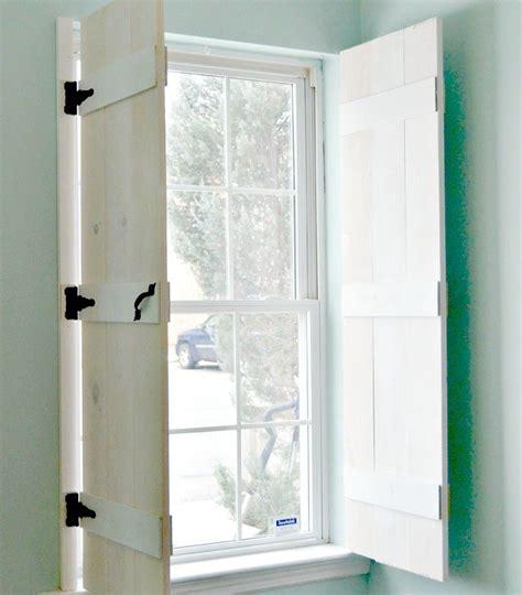 diy windows interior diy farmhouse style indoor shutters ideas for the house