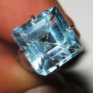Batu Blue Topaz 4 50 Karat batu permata topaz sky blue kotak 4 50 carat
