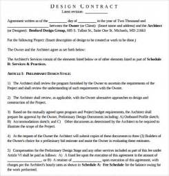 interior design services agreement sle interior design template 10 free