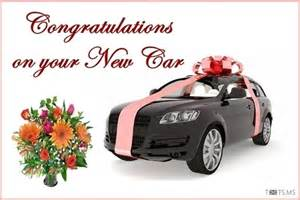 new car message congratulations wishes for new car quotes messages