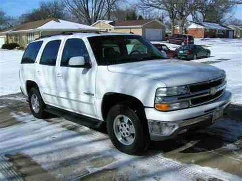 how to sell used cars 2003 chevrolet tahoe seat position control find used 2003 chevy tahoe lt in moline illinois united states