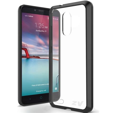 for zte grand x max 2 kirk zmax pro tpu rubber skin phone cover ebay