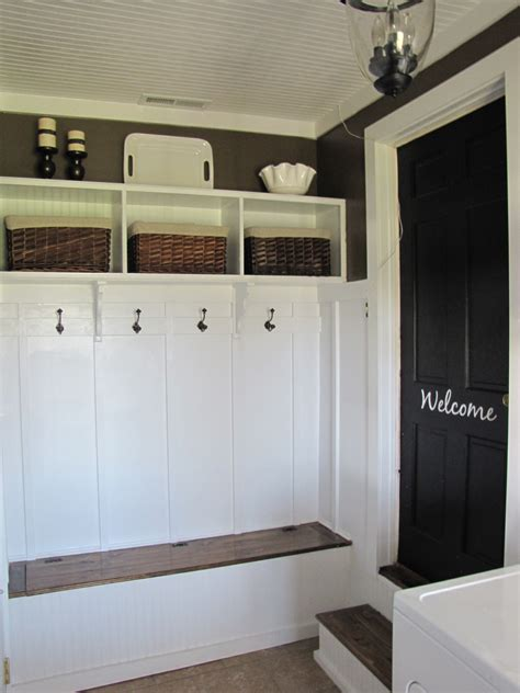 Garage Mudroom Designs Mud Room Archives Beneath My Heart