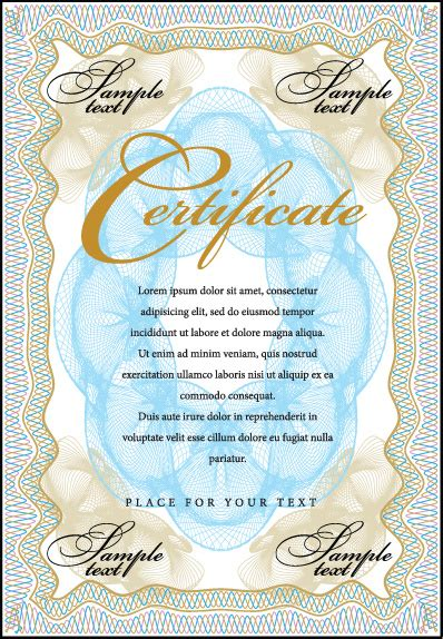 commonly certificate cover vector template free vector in cover template gentle certificate vector free vector in