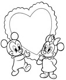 mickey minnie coloriage az coloriage