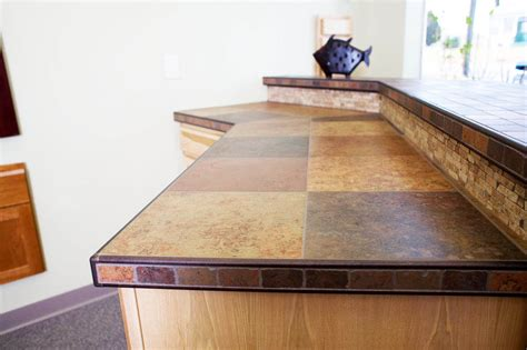granite tile kitchen countertop ideas tiles home