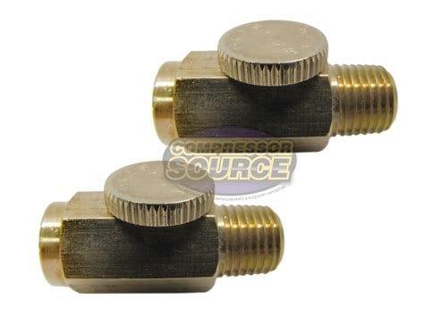 Four Air Brass 4755 by Two 1 4 Quot Npt Inline Regulator Solid Brass Compressed Air