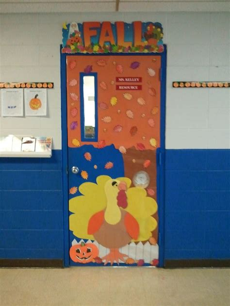 fall themed classroom door decorations thanksgiving or fall themed door classroom door