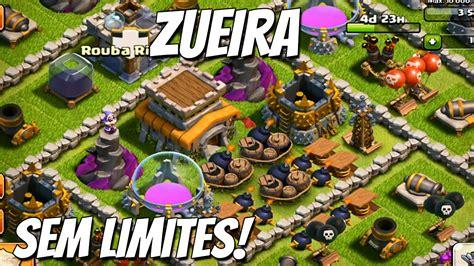 layout zueiro cv 7 clash of clans centro de vila 8 layout zueiro youtube