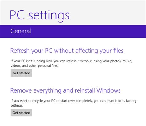 factory reset to windows 8 password recovery ways tips how to factory reset windows