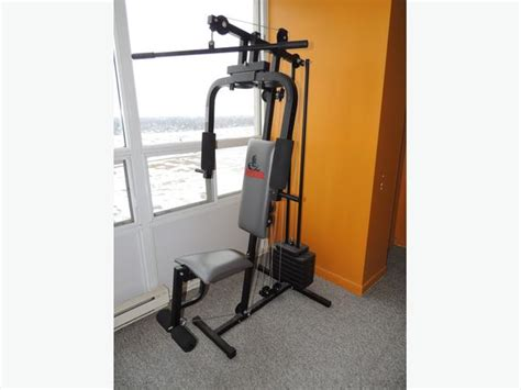 great deal home weider 740 model with manual central