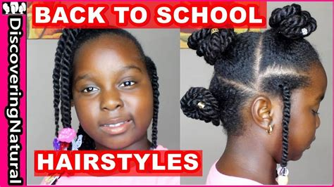 hairstyles back to school 2017 3 back to school hairstyles 2017 twists natural hair