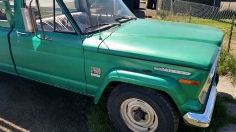 jeep gladiator 1971 1971 jeep gladiator j4000 townside jeep