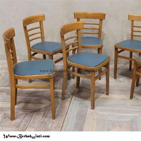 kursi cafe murah sandaran lengkung jok busa berkah jati furniture berkah jati furniture