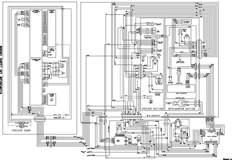 continental refrigerator wiring diagram jeffdoedesign