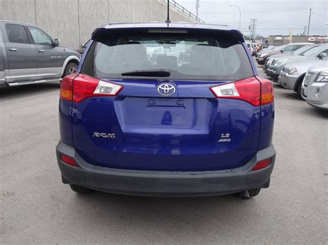 Toyota Rav4 Le 2015 2015 Toyota Rav4 Le Langley Willowbrook Chrysler Dodge