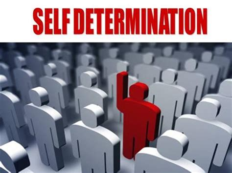 Shelf Determination by Self Determination Presentation Authorstream