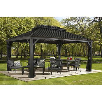 Garage Canopy Awning Gazebos Costco