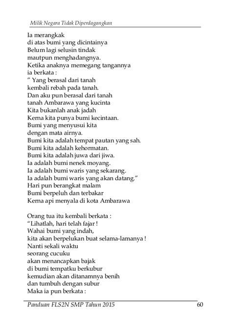 Harga Buku Puisi Sutardji Calzoum Bachri by Buku Panduan Fls2 N 2015