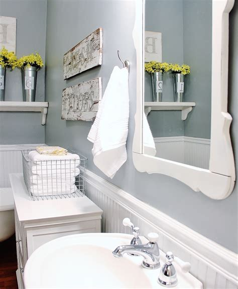 Farmhouse Bathroom Decorating Ideas Thistlewood Farm Decorating Your Bathroom Ideas
