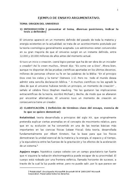 ejemplos de ensayos persuasivos search by ejemplo de ensayo argumentativo