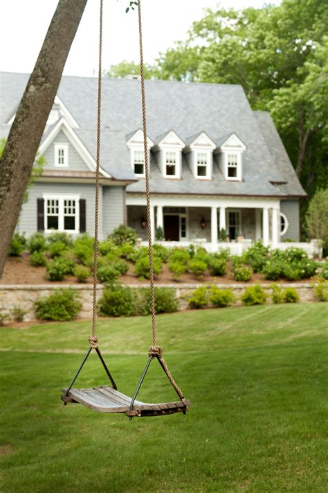 tree swing design family home with timeless traditional interiors home