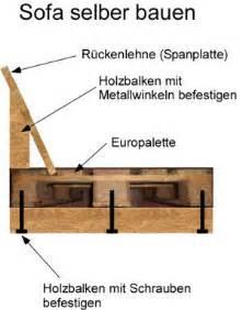 sofa gestell selber bauen anleitung sofa aus paletten otocarmagz